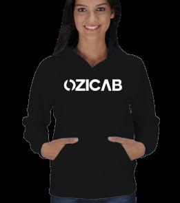Ozicab Web Design - Ozicab Logolu Kadın Kapşonlu