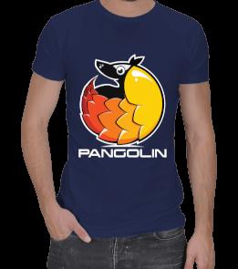 BilimNeGuzelLan - Pangolin Yazılı Erkek Spor Kesim