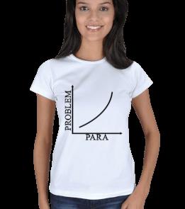 mathdesign - Para-Problem BB Kadın Tişört