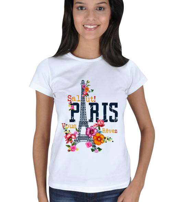 Doğaanadolu - Paris Kadın Tişört