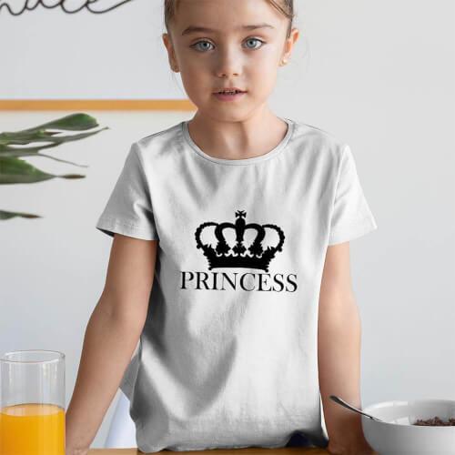 Tisho - Princess Kız Çocuk Tişört - Tekli Kombin