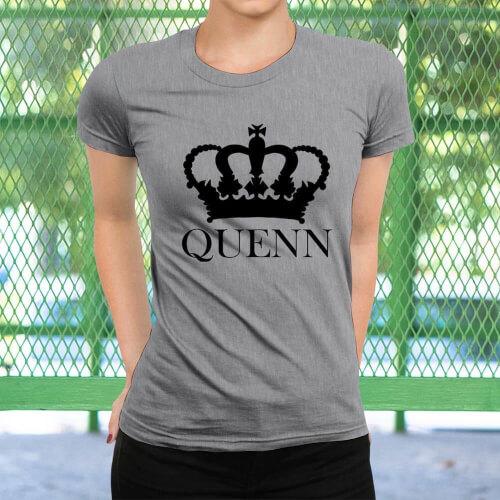 Tisho - Queen Kadın Tişört - Tekli Kombin