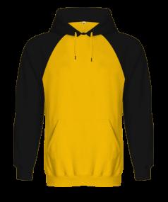 Tisho Kombin Ürünleri - Orjinal Reglan Hoodie Unisex Kapüşonlu Sweatshirt