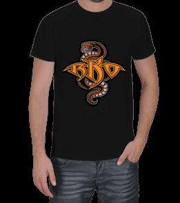 WrestleShirts - Randy Orton RKO Siyah Erkek Tişört