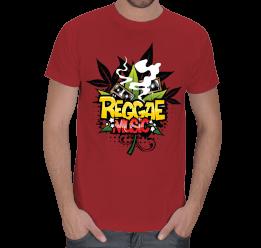 Alo Tasarım - Reggae Music Erkek Tişört