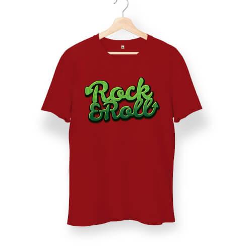 Tisho - Rock and Roll Graffiti Unisex Kısa Kol Tişört