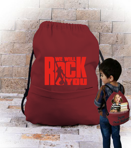 topextra - Rock çanta tasarım Büzgülü Çocuk Sırt Çantası