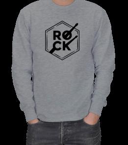 ROCK ERKEK SWEATSHIRT