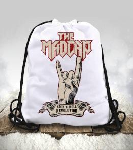 The Madcap - Rock N Roll Revolution Büzgülü spor çanta