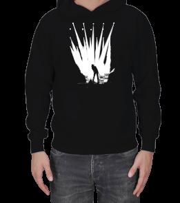 Ertürk Medya - Rockstar Sweatshirt Erkek Kapşonlu