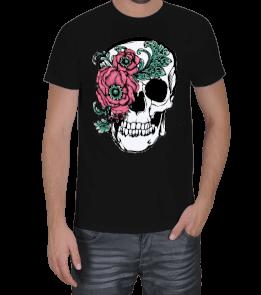 Moda tasarım - Rose dry head Erkek Tişört