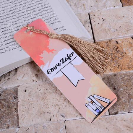 - Sade Tasarımlı Kitap Ayracı