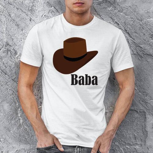 Tisho - Şapka Temalı Erkek Tişört - Tekli Kombin