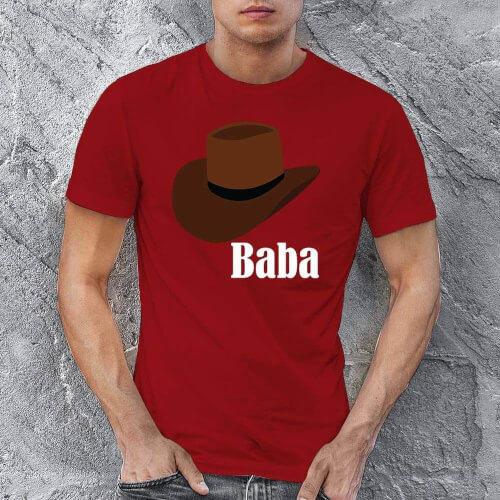 Şapka Temalı Erkek Tişört - Tekli Kombin