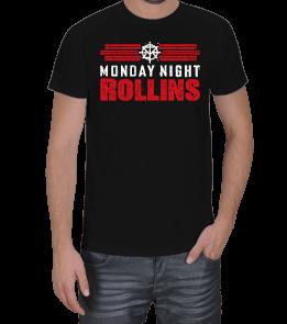 Güreş Market - Seth Rollins Monday Night Rollins Erkek Tişört