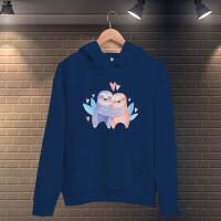 Tisho - Sevgili Kualalar Kadın Kapüşonlu Sweatshirt