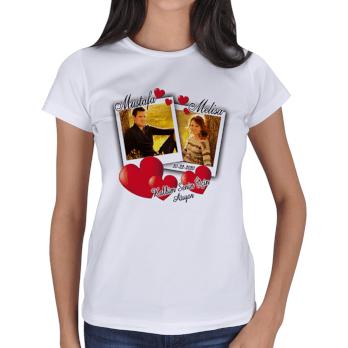 Tisho - Sevgiliye Özel Bayan Tişört