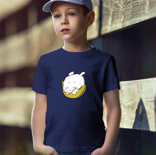 Tisho - Sevimli Meyve Erkek Çocuk Kısa Kol Tişört - Tekli Kombin
