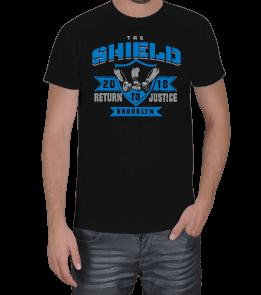 Güreş Market - Shield Return Justice Erkek Tişört