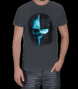 Moda tasarım - SKULL MİNT Erkek Tişört
