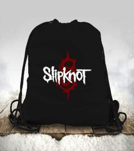 mk1500spor - Slipknot Büzgülü spor çanta