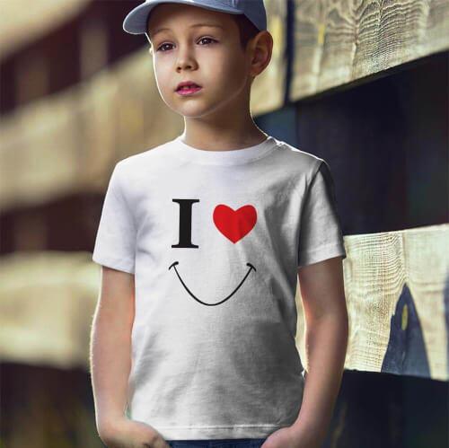 Tisho - Smile Erkek Çocuk Tişört - Tekli Kombin