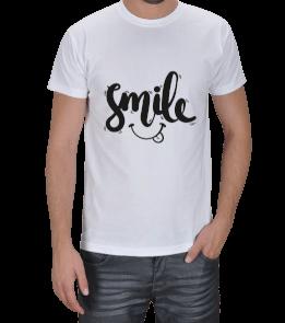 MAZZA - smile, erkek tişört, komik Erkek Tişört