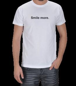 Crea - Smile more. Erkek Tişört