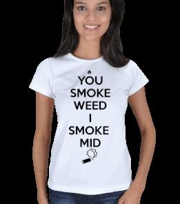 LEVELUP - Smoke Mid Kadın Tişört