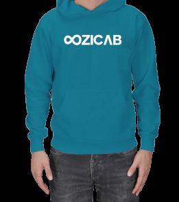 Sonsuzluk Tasarımlı Ozicab Logolu Kapüşonlu Erkek Kapşonlu