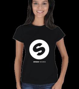 Cons T - Spinnin Records - Classic Lady Kadın Tişört