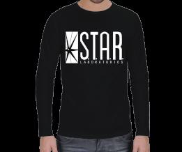 BarryAllen - Star Labs. Erkek Uzun Kol