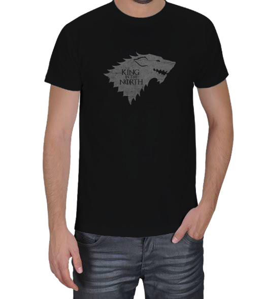 X SHIRT - STARK King in the North Erkek Tişört