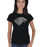 vatsap - stark wolf Kadın Tişört