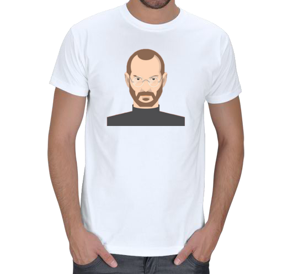 mc - Steve Jobs Erkek Tişört