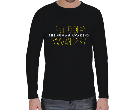 RAR - Stop Wars Erkek Uzun Kol
