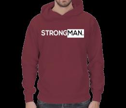 fityemek - Strongman : GüçlüADAM Erkek Kapşonlu