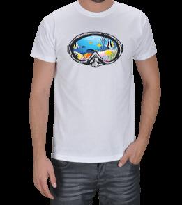 Deep Nature - Sualtı Maske Erkek Tişört