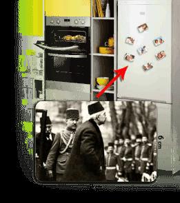 BUDUR GİYİM - Sultan Vahdettin Han Kişiye Özel Buzdolabı Magneti