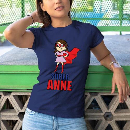 Tisho - Süper Anne Kadın Tişört - Tekli Kombin