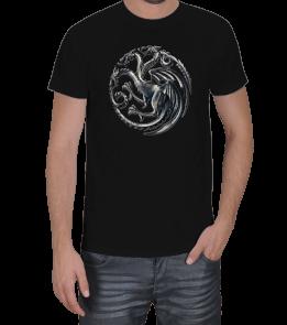 Geek-Shirt - Targaryen Hane Simgesi Erkek Tişört