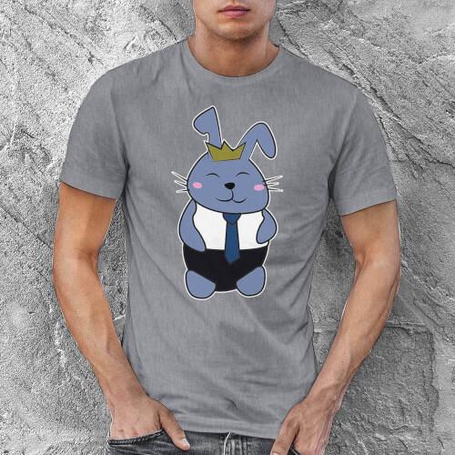 Tisho - Tavşan Erkek Tişört - Tekli Kombin