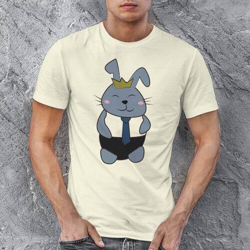 Tavşan Erkek Tişört - Tekli Kombin