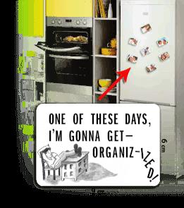 Aperture Tee - tembel Kişiye Özel Buzdolabı Magneti