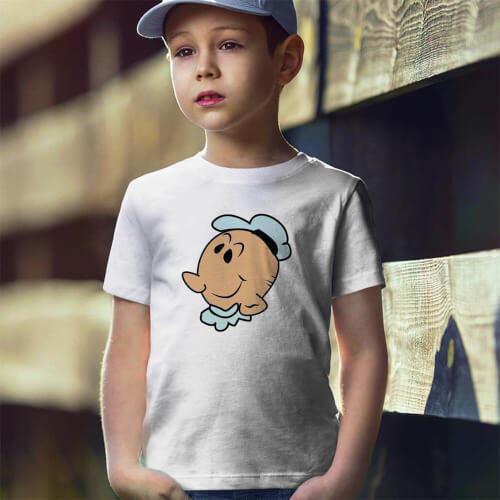 Tisho - Temel Reis Temalı Erkek Çocuk Tişört - Tekli Kombin