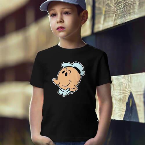 Tisho - Temel Reis Temalı Erkek Çocuk Tişört - Tekli Kombin (1)