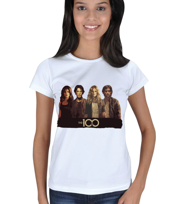Karan Giyim - The 100 Bayan Beyaz Tişört Kadın Tişört