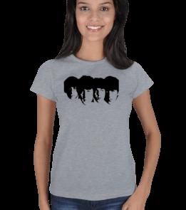 mc - The Beatles - Silüet - [2] Kadın Tişört
