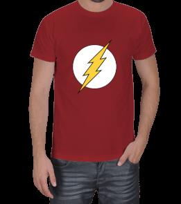 Geek-Shirt - The Flash Logo Kırmızı T-Shirt Erkek Tişört