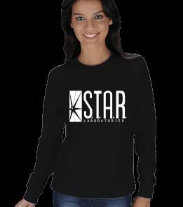 AMBAR - The Flash Star Laboratories KADIN SWEATSHIRT
